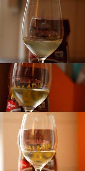 Vergleich durch s glas